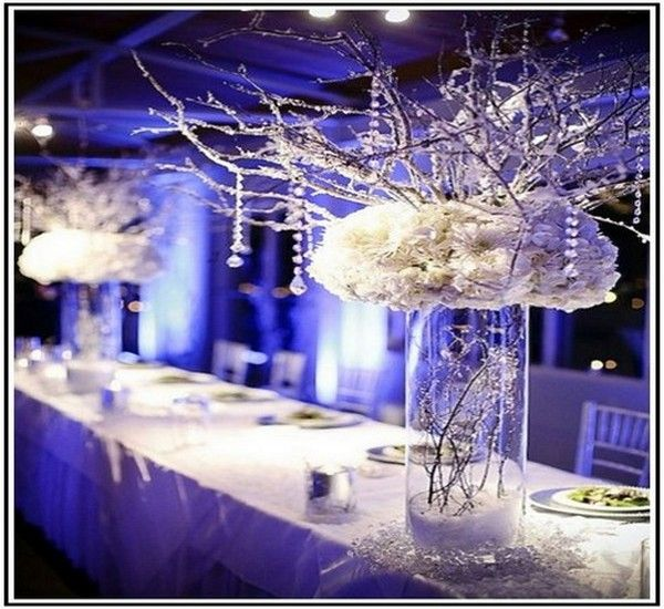 Wedding Decorations On A Budget | Winter Wedding Ideas On A Budget Winter  Wedding Centerpieces On