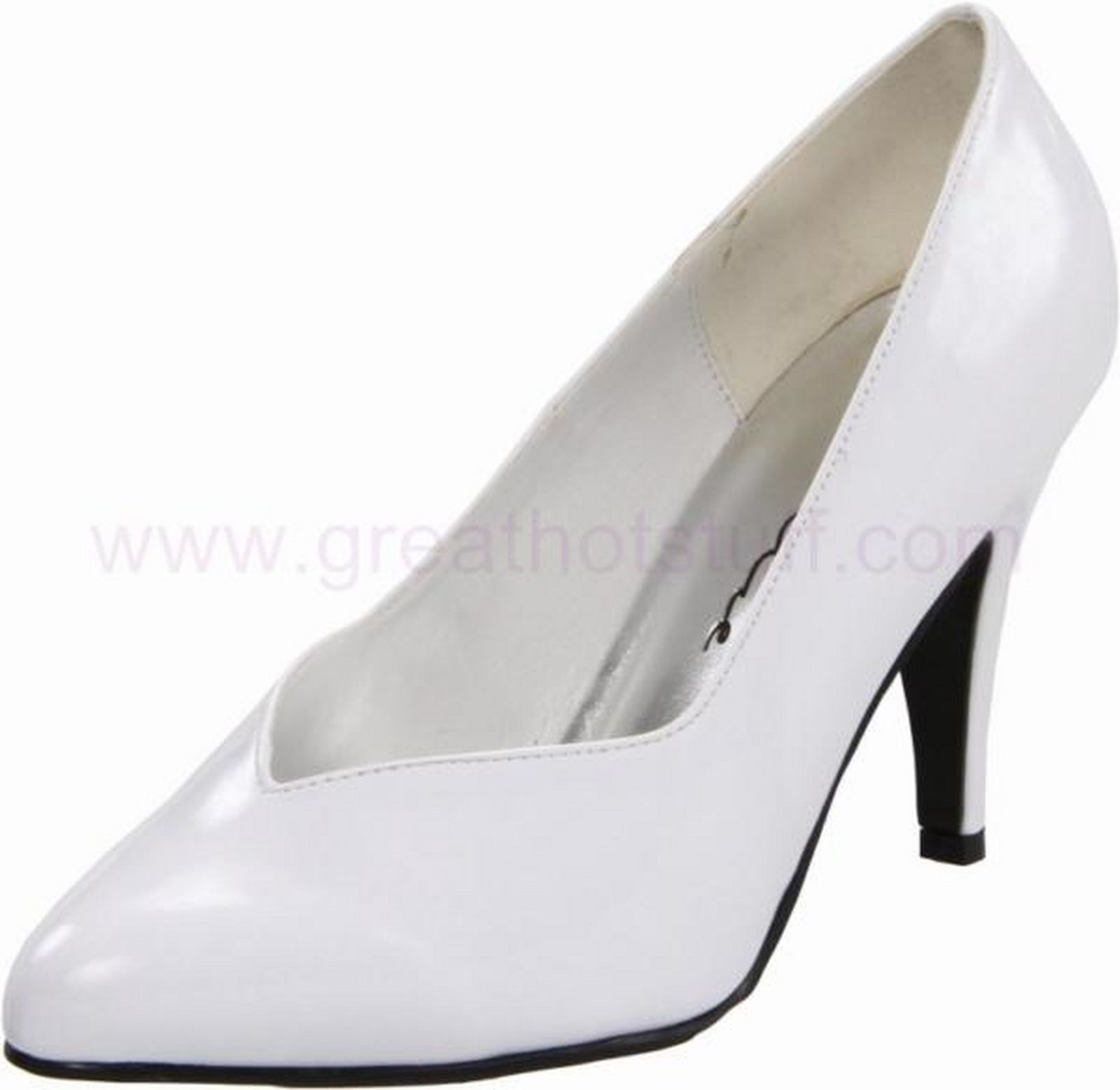Ellie Shoes 620-AMADA-L 5 Inch Curvacious Pump With Lace And Bow