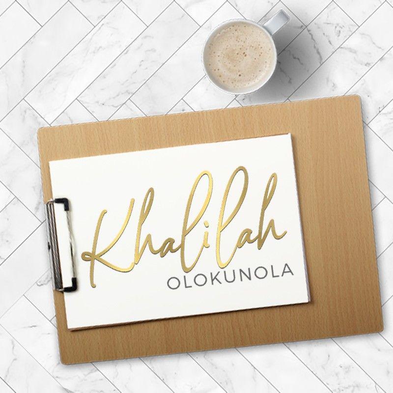 Logo Designed For Khalilah Olokunola Logo Logodesign
