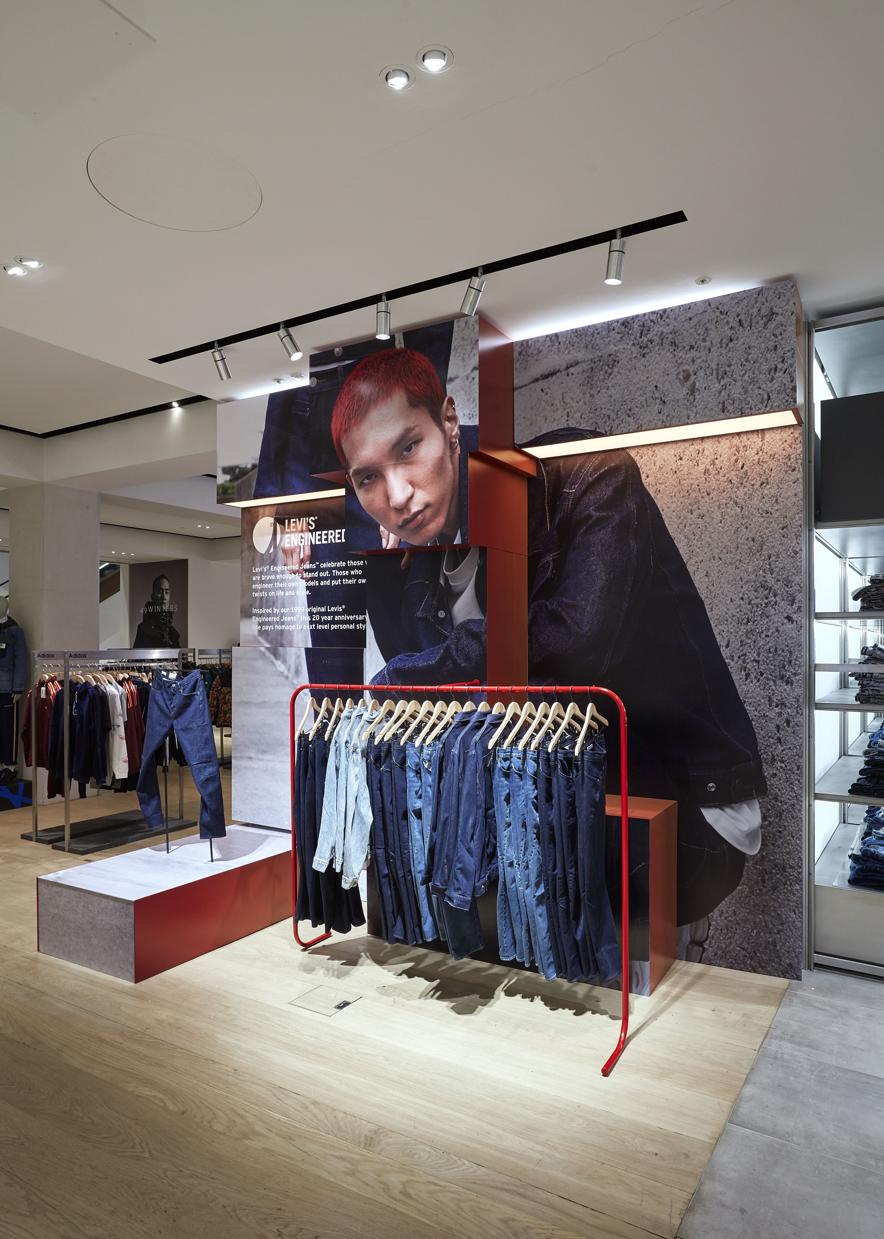 This pinned photo is an example of Store Interiors and