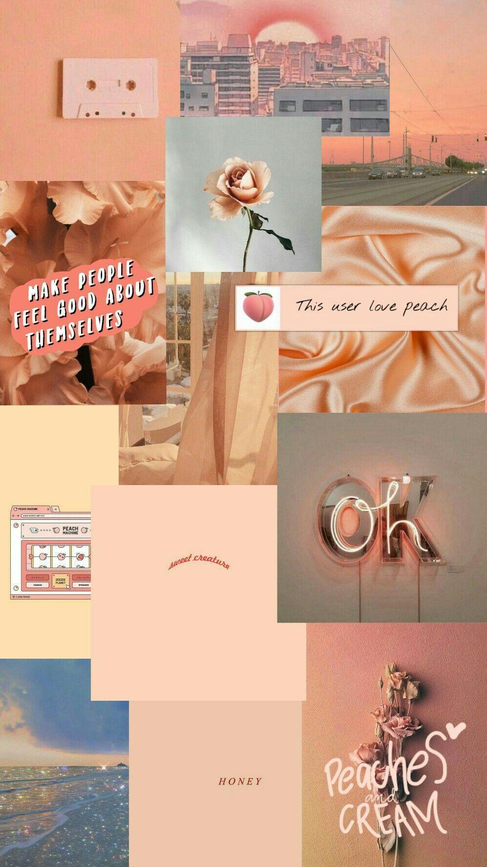 Iphone Wallpaper Tumblr Peach