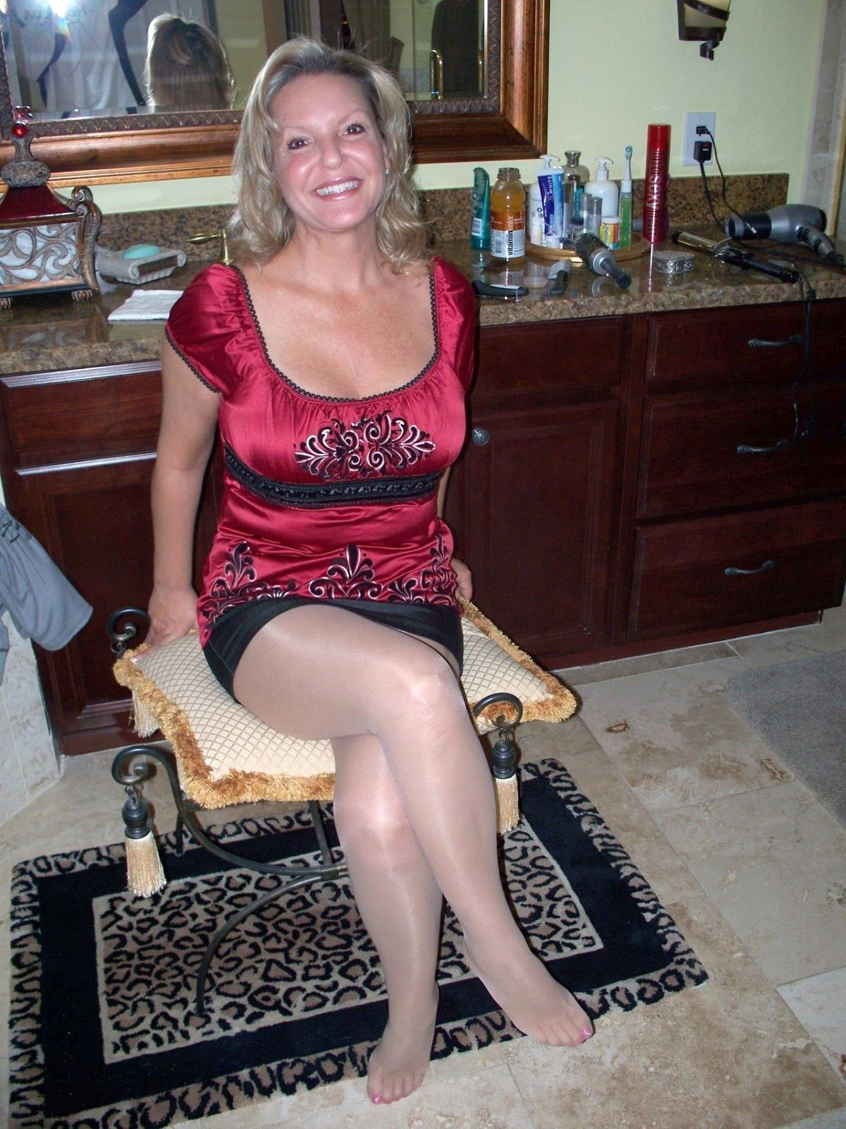 Milf step mother