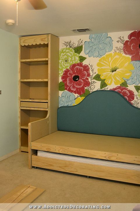 Built-In Bookcases  Daybed, Part 2 (Daybed, Trundle Bed, and