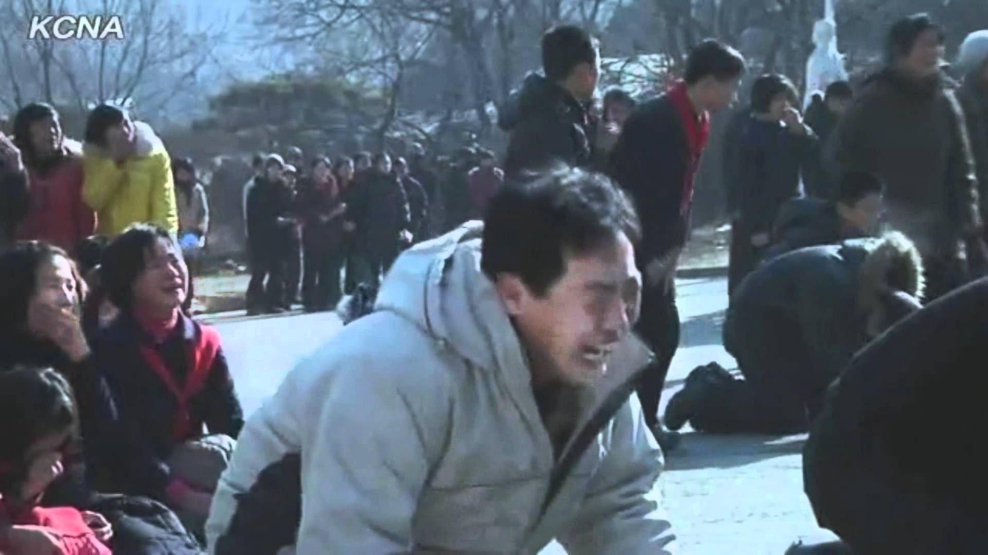 North Koreans Crying Over Kim Jong II (FUNNY VERSION