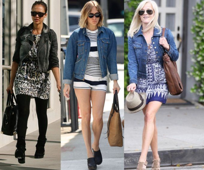 What to Wear Your Cropped Denim Jacket With | Denim jackets ...