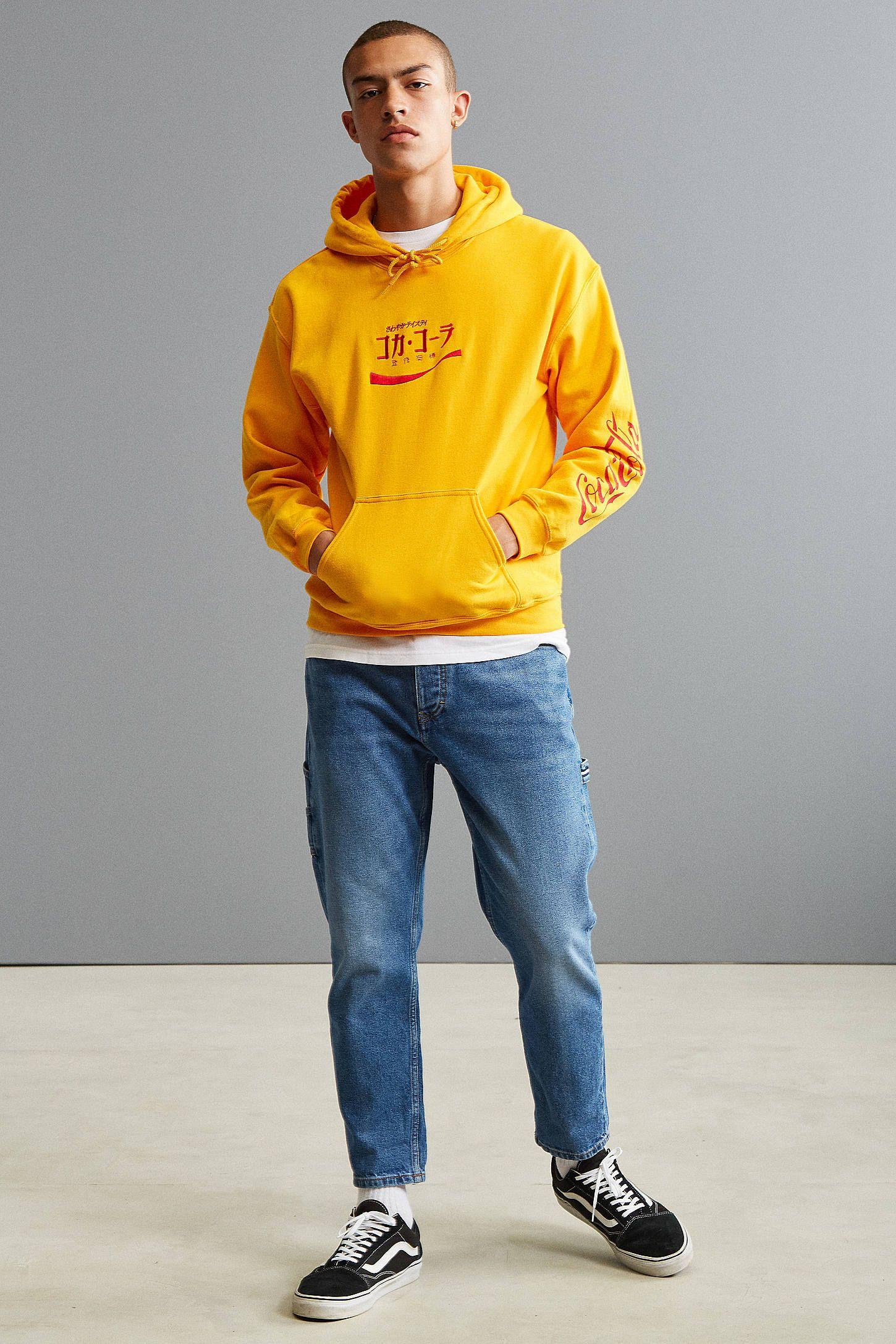 34872afcb31 Coca-Cola Embroidered Hoodie Sweatshirt | estilo | Sweatshirts ...