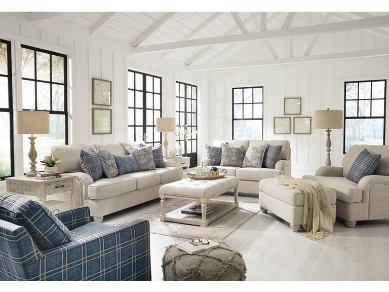 Signature Design By Ashley Traemore 2pc Sofa Loveseat Set 27403 35 38 Capital Discount Furniture White Furniture Living Room Living Room Sets Furniture