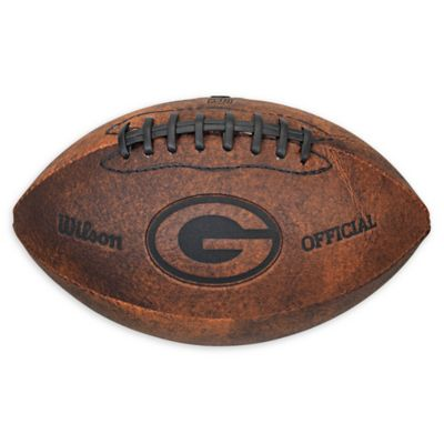 NFL Vintage Throwback Football 9-Inches