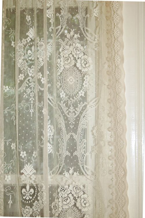 Pin By Carter Andrews On Lovely Lace Lace Curtains Curtains