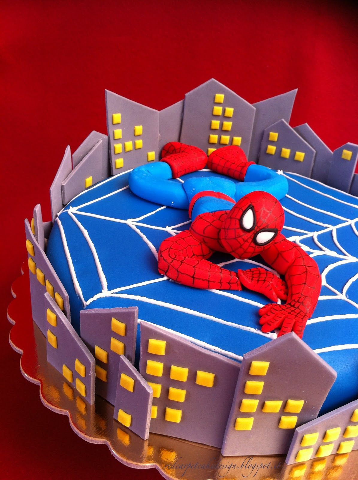 Spiderman Cake Design Pictures : SPIDERMAN CAKE-by Red Carpet Cake Design  RED CARPET ...