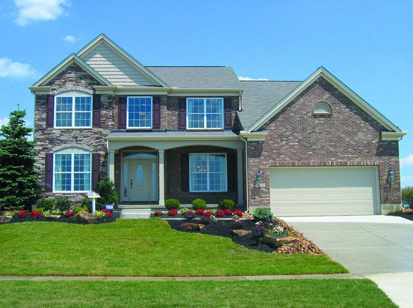 New construction homes by ashford homes ohio custom and will build on your own lot
