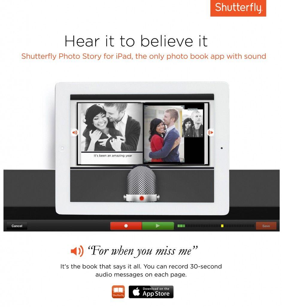 Shutterfly Photo Story for iPad Hear It To Believe It