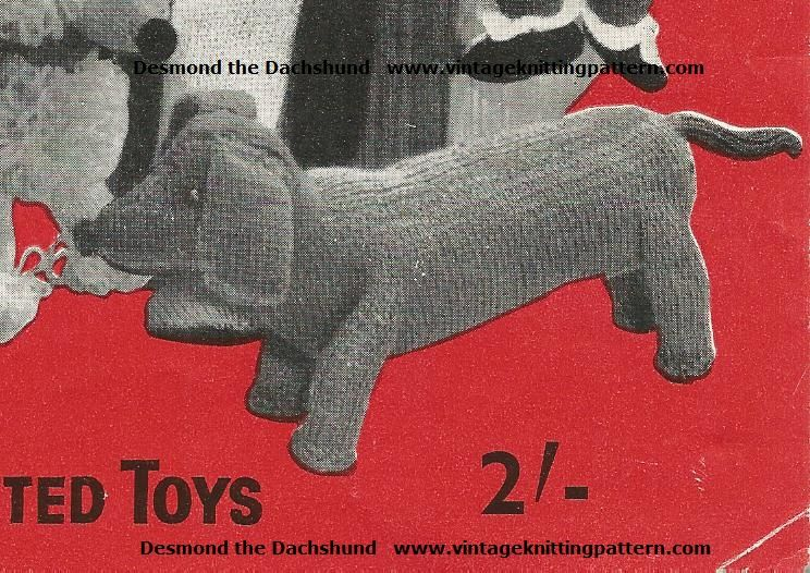 Sausage Dog Knitting Pattern : Pin it Like Image