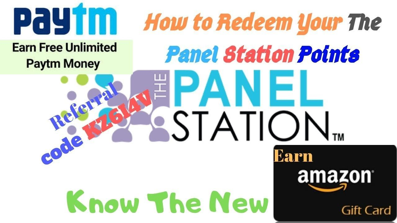 How To Redeem Points In The Panel Station Redeem Points