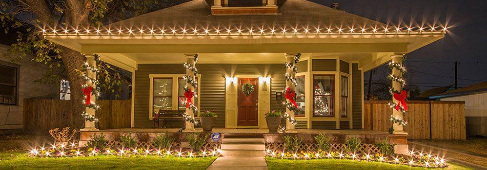 Fairmount Historic District Home Christmas Bungalow