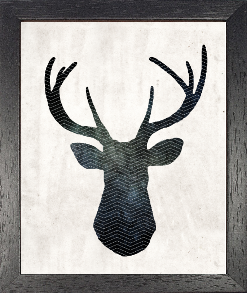 projects ideas dear head. FREE PRINTABLE  Striking stag head silhouette printable available for free download