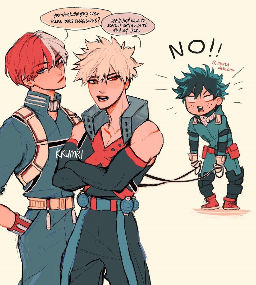 I Love This Dynamic Todobaku Todorokishouto Bakugoukatsuki Midoriyaizuku Bnha My Hero My Hero Academia Episodes My Hero Academia Manga