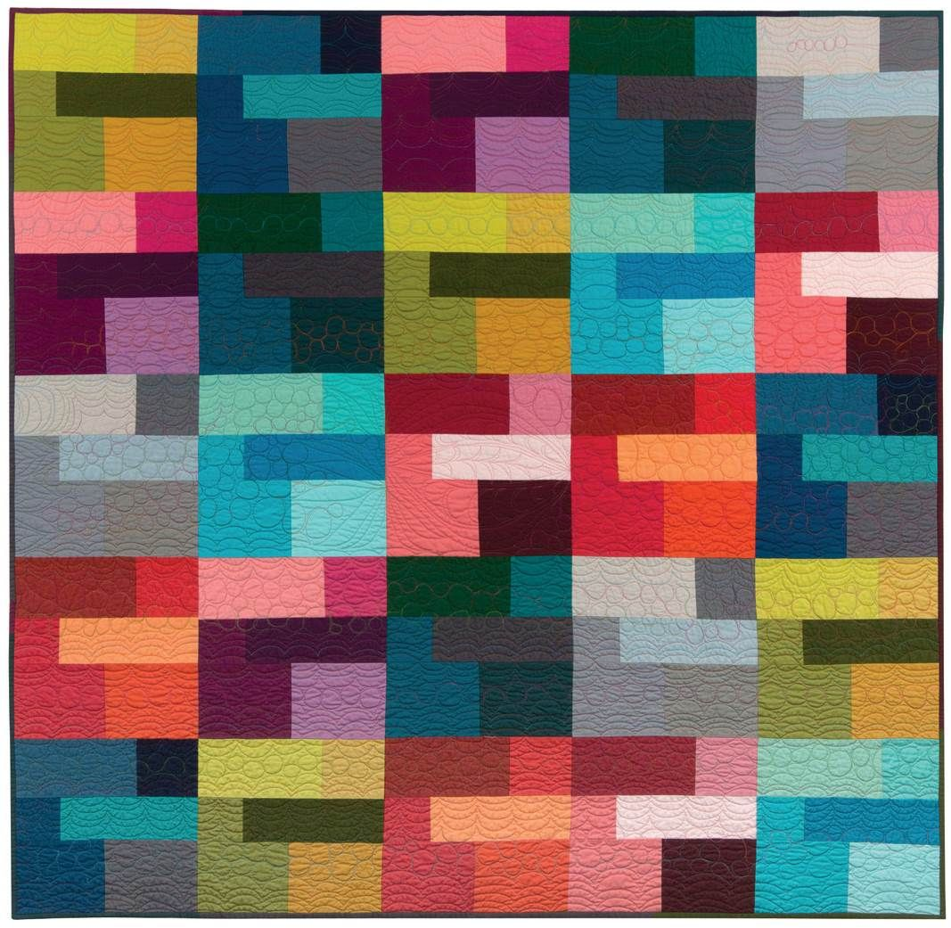 = free pattern = Colored Happy quilt by Valori Wells for ... - photo#10