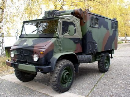 1963 Unimog 404 Radio Box Low Km Nice Condition Unimog Army