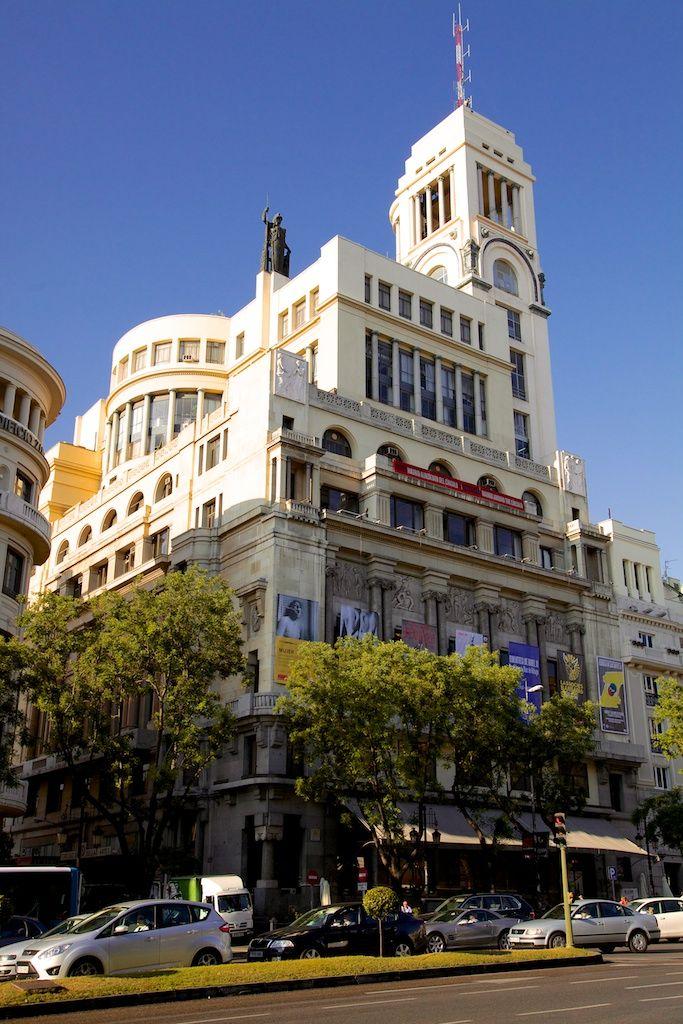 Circulo De Bellas Artes My Spanish Experience Madrid Ciudad Espana Turismo Arquitectura De Espana