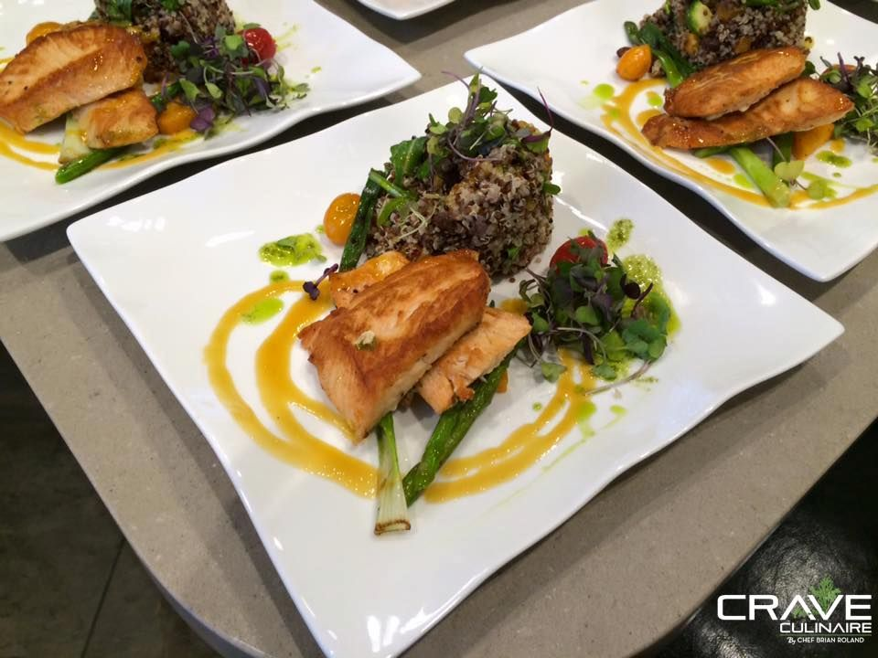 Catch Of The Day Florida Orange And Fresh Basil Sous Vide