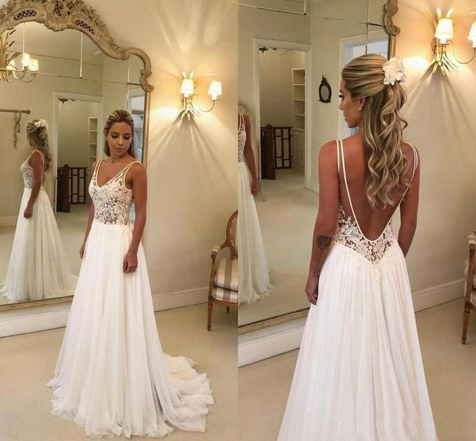 Pin On Backless Wedding Dress Ideas