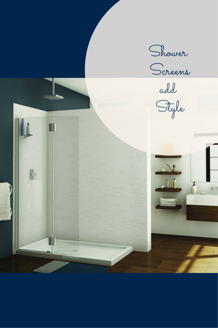 Shower screens can be used to open a walk in shower even in a ...
