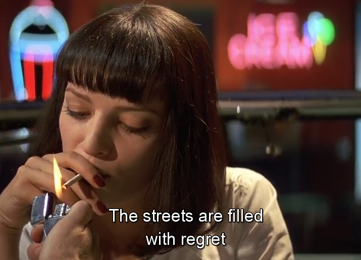 Delicieux My Gif Gif Film Cinemagraph Pulp Fiction Top John Travolta Quentin  Tarantino Uma Thurman Mia Wallace