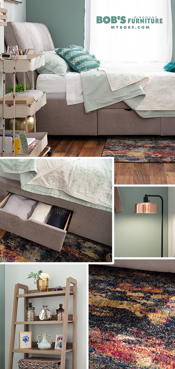 31 Small Space Ideas To Maximize Your Tiny Bedroom: Small Space Bedroom, Discount Furniture, Small Spaces