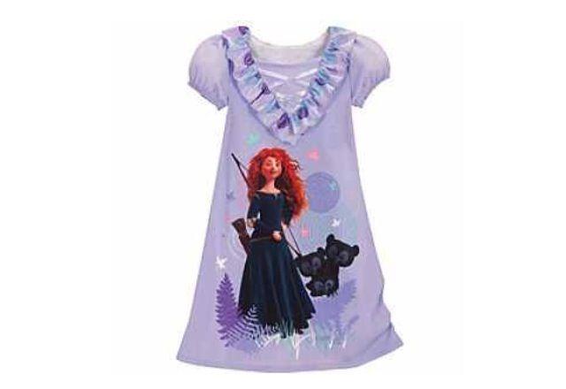 MERIDA  Disney.com Night shirt   Too cute