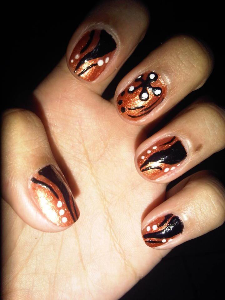 elephant tusk nail art