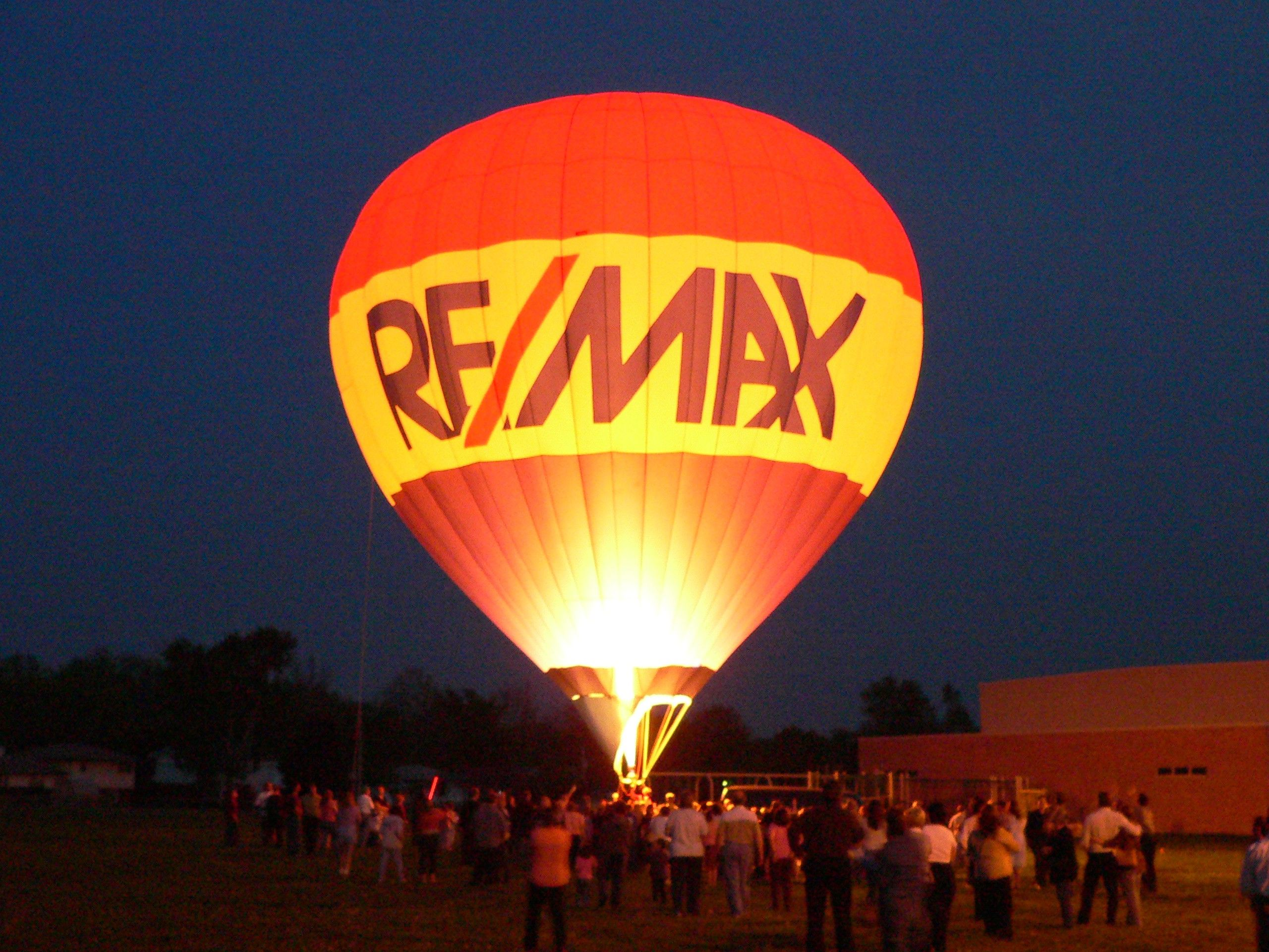 RE/MAX balloon. Our company logo. Re/Max Pinterest