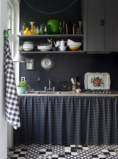 Warum Stoffe auch bei der Küchendeko nicht fehlen sollten
