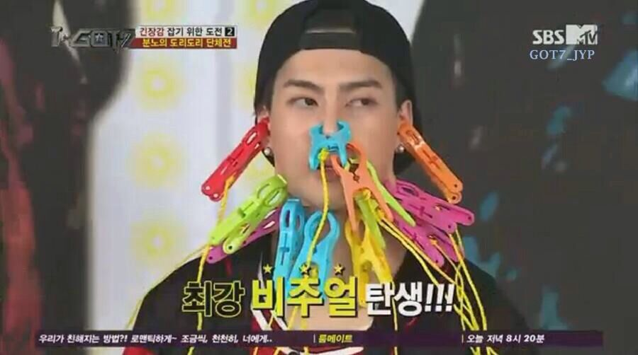 Poor Jackson. What have they done to you on IGot7?