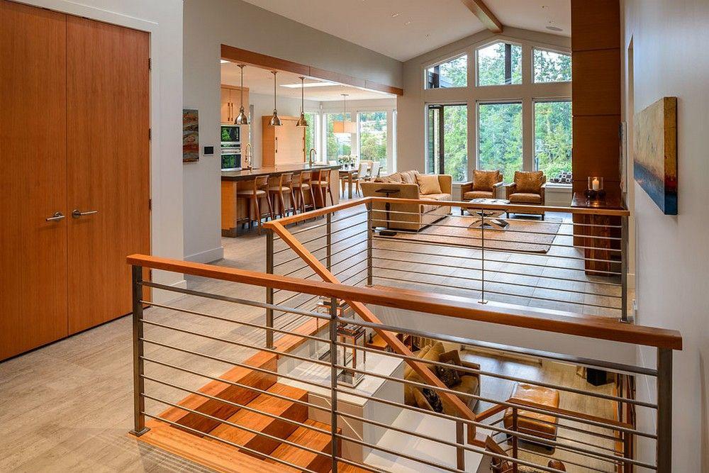 Best Современный Двухэтажный Деревянный Дом С Традиционными 400 x 300