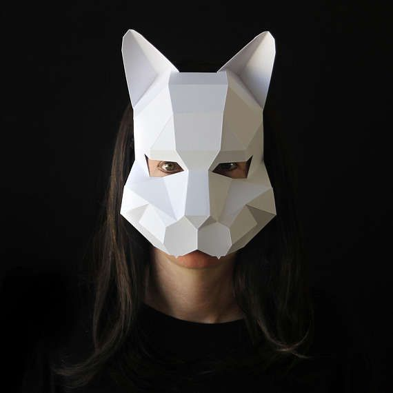 CAT Mask Woman