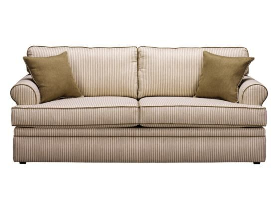 Kendall Stripe Sofa   Value City Furniture (American Signature)