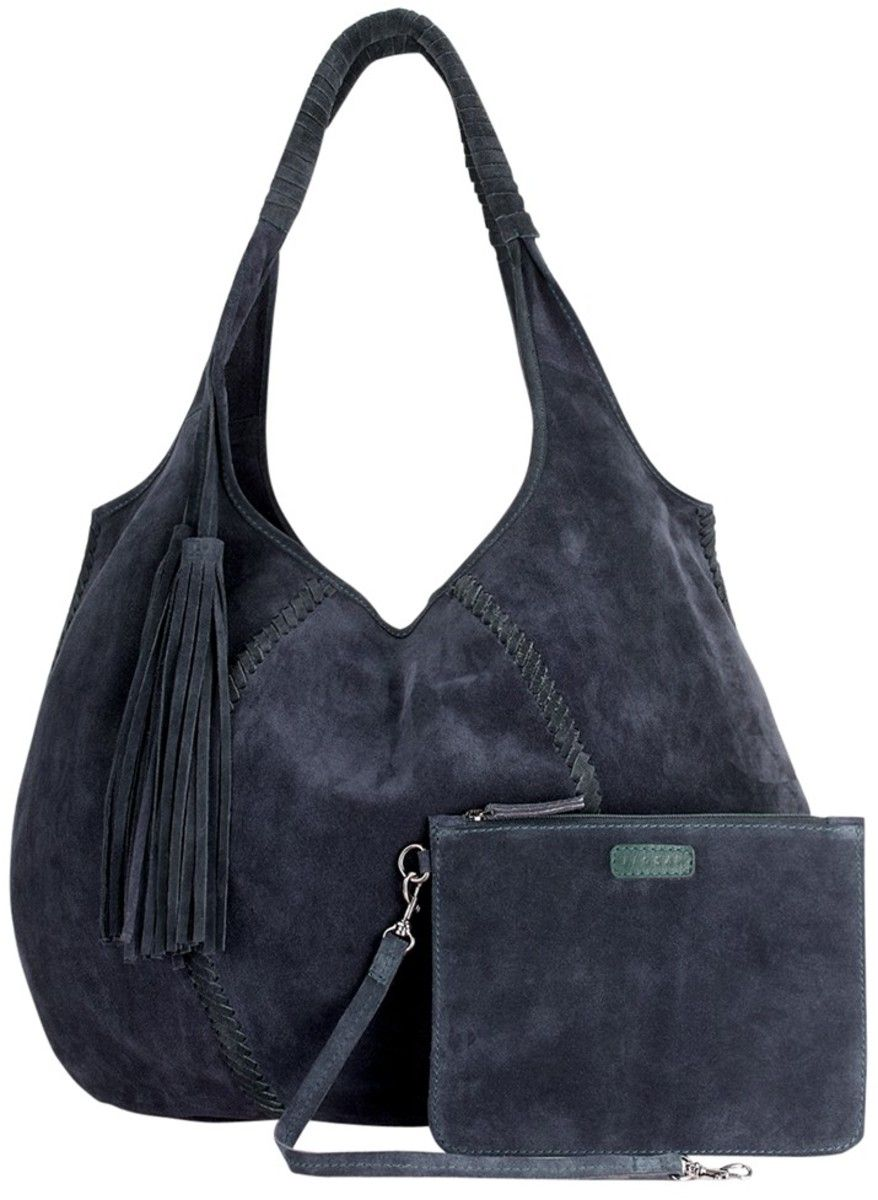 a56a83282114 Jigsaw Orla Suede Hobo Bag