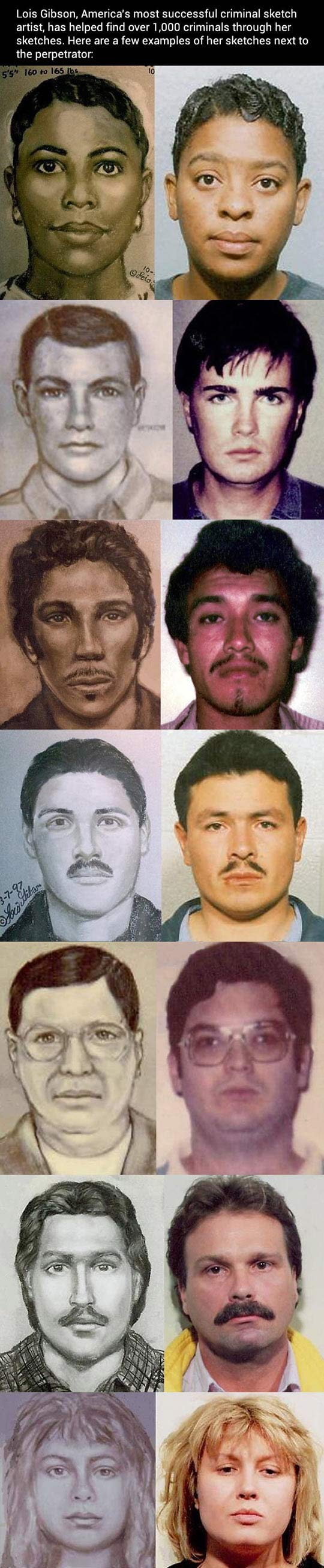 America S Most Successful Criminal Sketch Artist Sketches