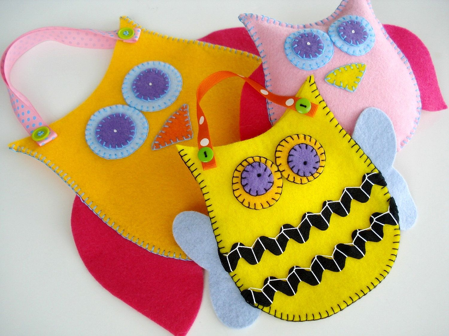 New Felt Pouches Toy Sewing Pattern