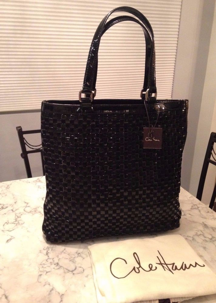 02a8e477a7 Cole Haan Genevieve NWT! Woven Leather & Suede Weave Tote Hobo Hand Bag  Purse #ColeHaan #TotesShoppers GORGEOUS!!! NEW WITH TAGS!!! VERY RARE!!!