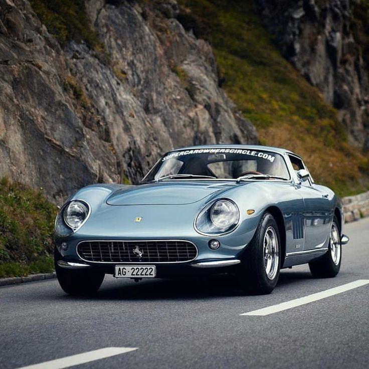 Loving the light blue colour of this Ferrari 275 GTB. #Ferrari #275 #GTB #style … – Luxury Brand Car Information And Promotion Blog