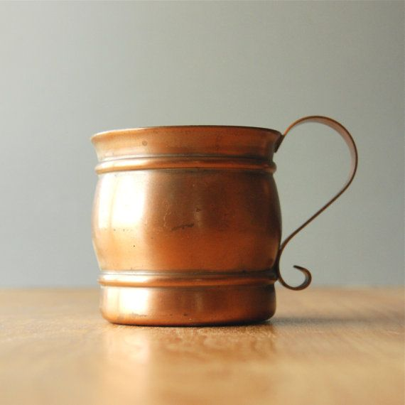 Vintage Moscow Mule Mug Cup - Gregorian Copper | Drinks ...
