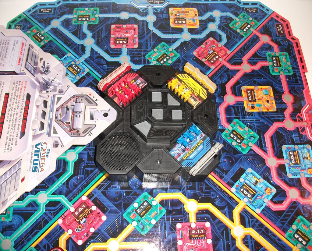 Omega Virus Game Board I still have this game. ) Board