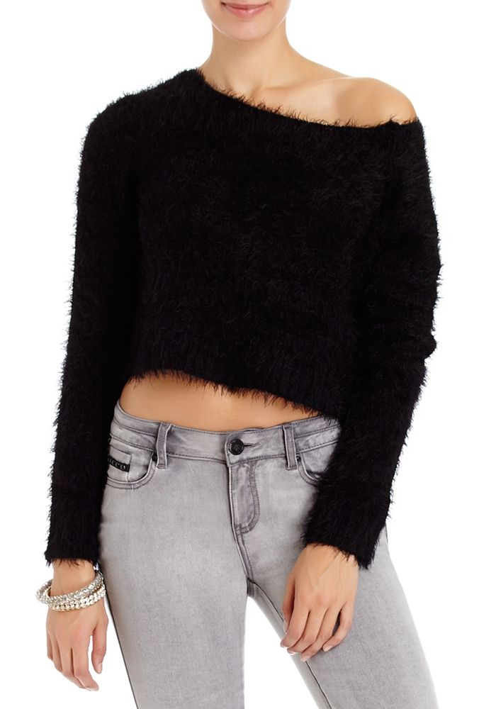 2b   Feather Fur Sweater - View All