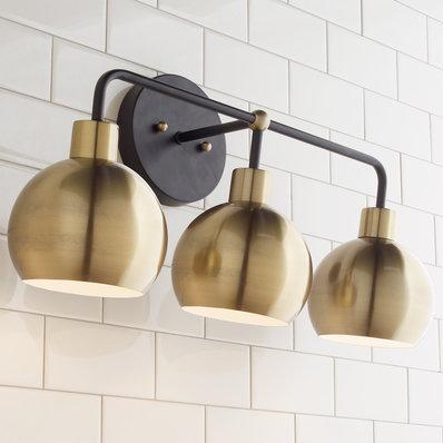 Photo of Harmony Globes Vanity Light – 3 lights