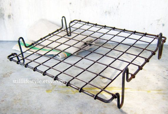 Rectangular Wire Cooling Rack Primitive Roast Rack Small