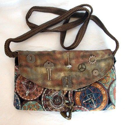 steampunk fashion - Steampunk Explorer Clutch ✿ Rayvin Nyte ✿ Enchanting & Enhancing Your Life!  www.MagicallyManifestMoney.com