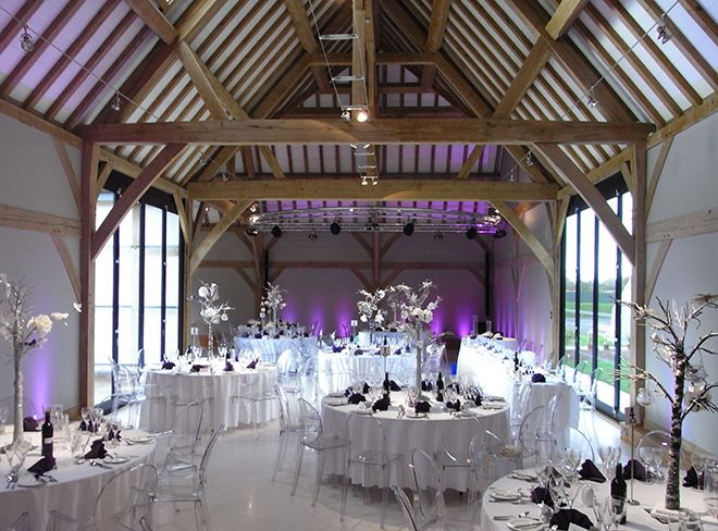 Stylish Philippe Starck Ghost Chairs At Redhouse Barn Wedding Venue Visit Venues