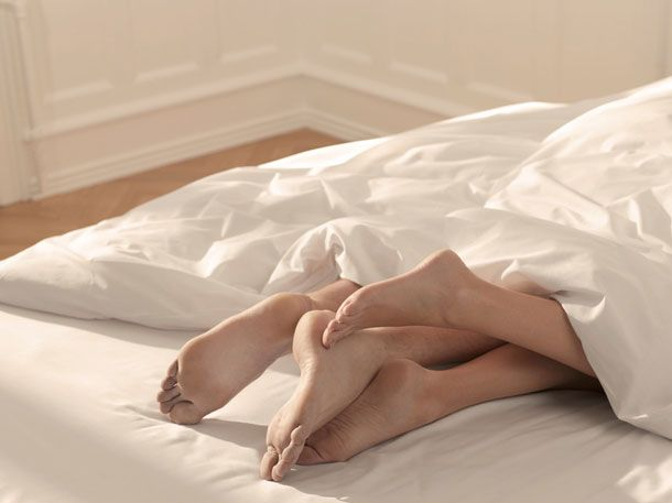 Sex Position von Männern und Frauen